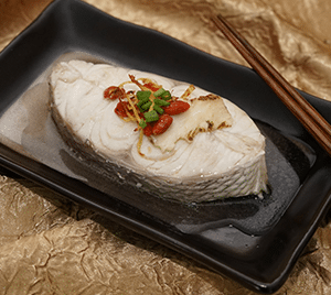 Confinement Food - Steamed Sea Bream with Ginger