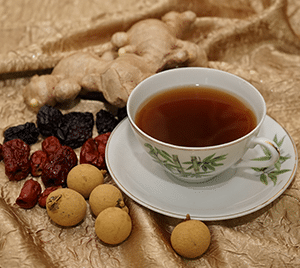 Longan Red Date Tea - Confinement Meal Complimentary