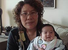 Confinement Nanny LJK Smiling Baby