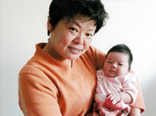 Confinement Nanny Malaysia ALK with Cute Baby