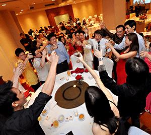 Weekend Wedding Dinner - Weekend Babysitter Singapore Babysitting Services