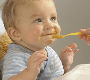 nanny-feed-food-to-baby
