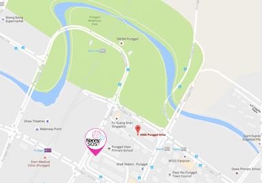 singapore-babysitter-punggol-location