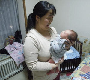 What is a Confinement Nanny - Confinement Nanny with Newborn Baby Boy