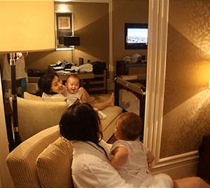 Singapore Hotel Babysitting Services for tourist mummy children