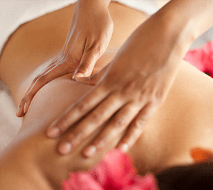post natal massage after c section