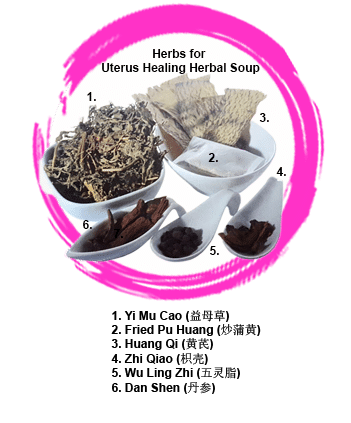 Confinement Food Recipe - Uterus Healing Herbal Soup Herbs for Soup Ingredients