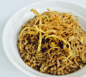 Confinement Food Menu - Sesame oil fried rice