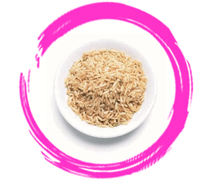 confinement food brown rice