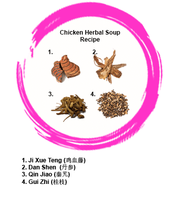 Chicken Herbal Soup Recipe for confinement