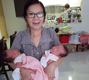 Confinement Nanny Liew Singapore Twins