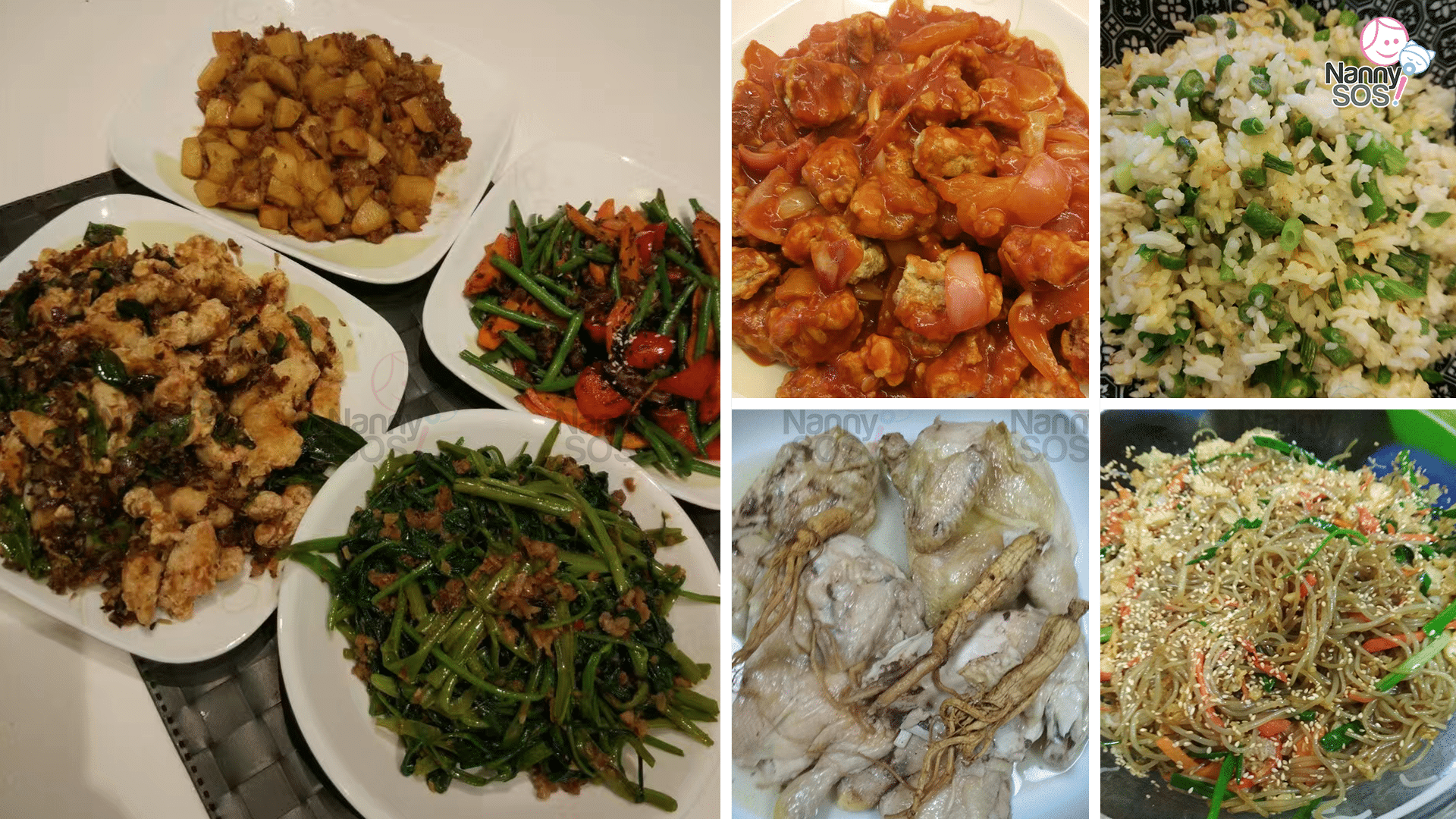 Confinement food by nanny Chan in Singapore