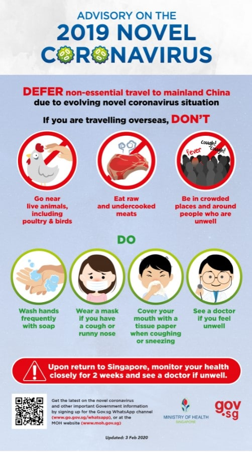travel advisory coronavirus